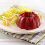 Fresco y delicioso pastel a base de Remolacha