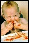 Para tu bebé Pasta integral con queso