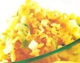 Prueba esta rica ensalada de arroz y lentejas
