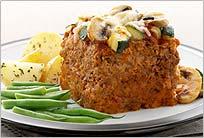 Pastel de carne vegetariana