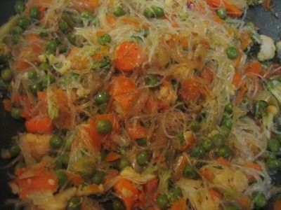 fideos de arroz