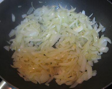 cebolla cortada