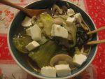 Sopa de Miso con Puerros y Alga Wakame