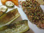Trucha arcoiris al horno con Pistachos