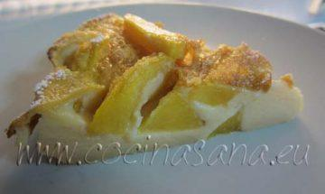 Calafoutis de Melocotones y Nectarinas con jengibre: postre ligero y sano!