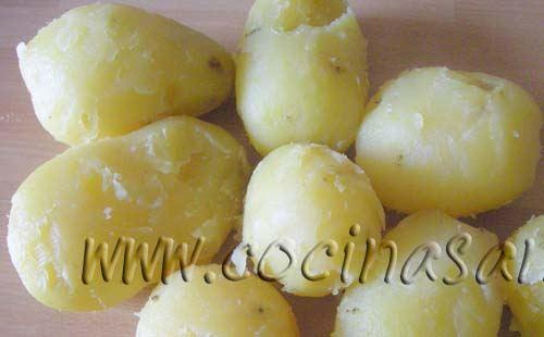 Cocer las patatas recetas de cocina f ciles ligeras y - Tiempo de cocer patatas ...