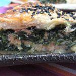 Espinacas y salmón...