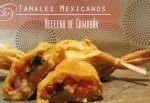 Tamales Mexicanos rellenos de Camarón (Gambas)