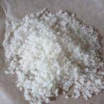Granitos de azúcar caseros