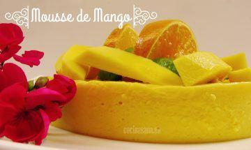Mousse Ligero de Mango