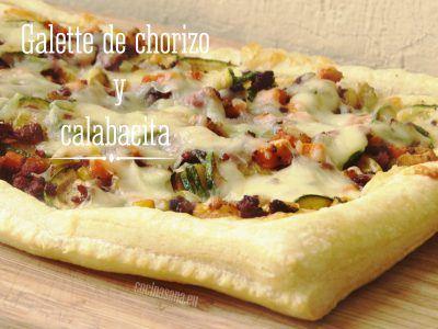 Galette de Chorizo y Calabacita