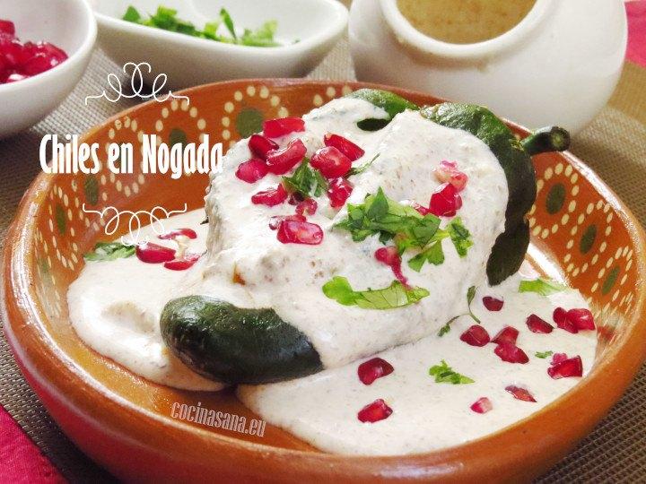 Chiles en Nogada - Recetas de Cocina Fáciles, Ligeras y Rápidas