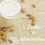 Leche de Almendras: Como preparar leches vegetales