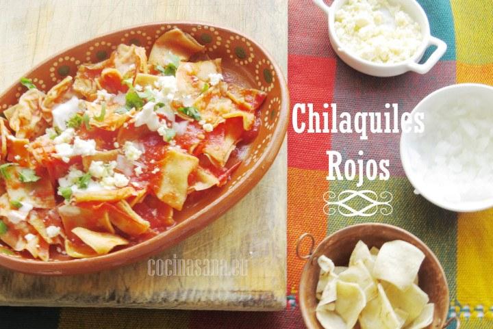 Chilaquiles Rojos - Recetas de Cocina Fáciles, Ligeras y Rápidas
