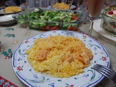 Fiesta de Arroz con Camarones