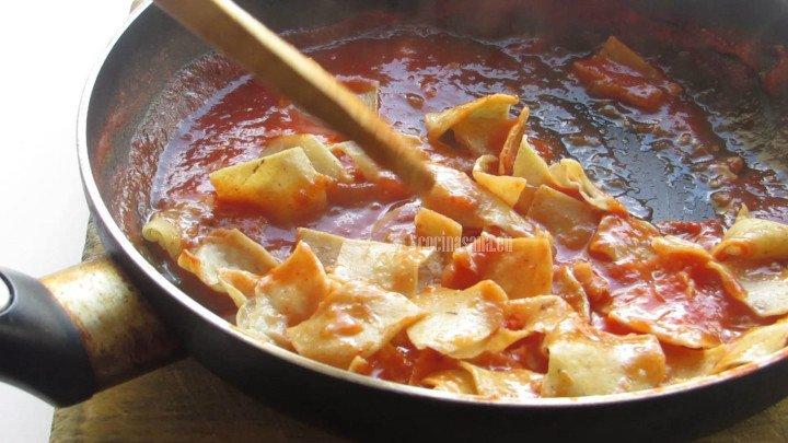 Mezclar las Tortillas