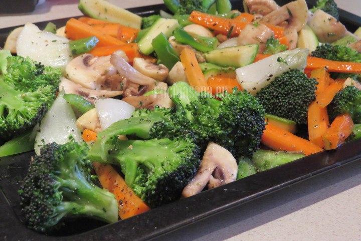 C mo hacer una guarnici n de verduras al horno - Como hacer verduras salteadas ...