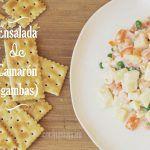 Ensalada de Camarones (receta fácil)