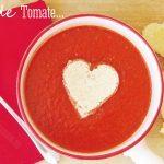 Sopa de Tomate de Enamorados, para cenar en San Valentín