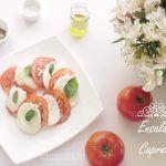 Ensalada Caprese receta original