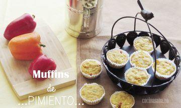Muffins de Pimiento