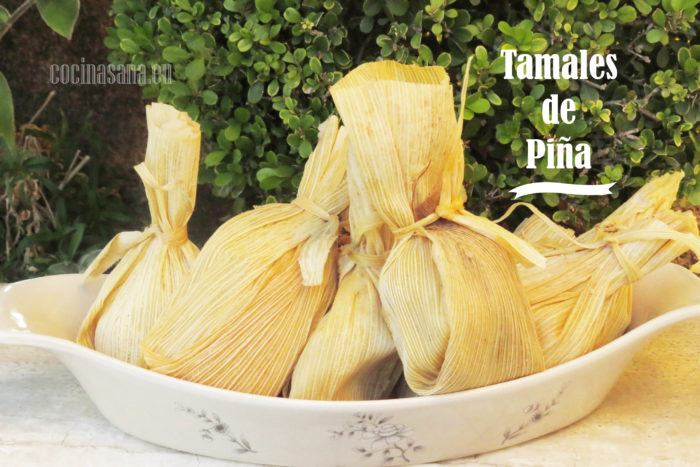 Tamales de Piña