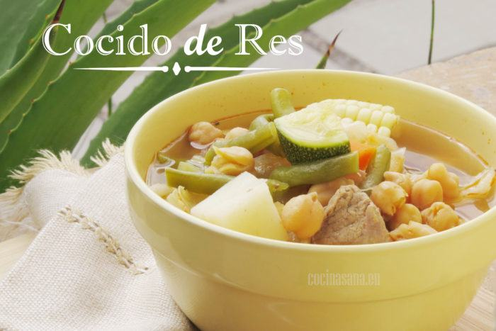 Cocido de Res mexicano