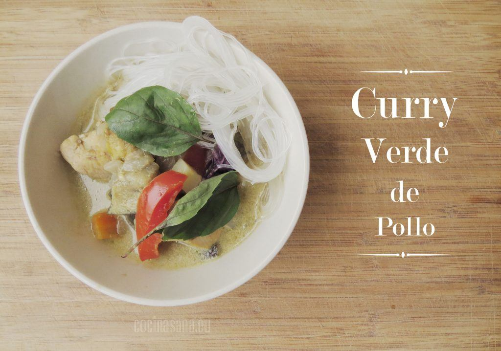 Curry verde de Pollo