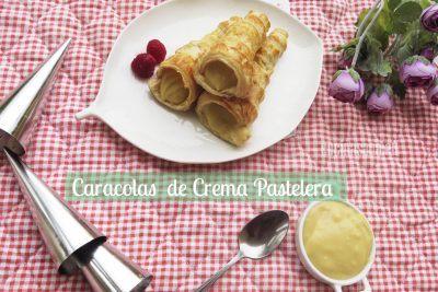 Caracolas de Crema pastelera