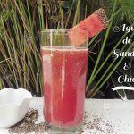 Bebida fresca de Sandía y Chía: una Receta baja en calorías
