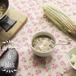Sopa de Berenjena y Maíz