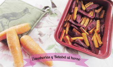 Zanahorias y Betabel al horno