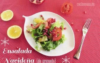 Ensalada Navideña con Granada