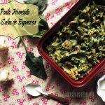 Pasta Horneada con Salsa de Espinacas