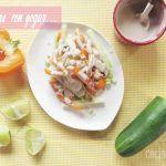 Verduras Frescas con Yogur: Receta ligera en solo 15 minutos