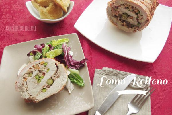 Receta de Lomo relleno de Carne Molida con Verduras