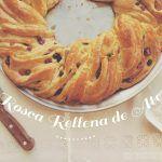 Rosca Rellena de Ate (dulce de fruta)