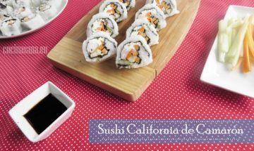 Sushi de Camaron