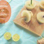 Paletas de Limón, Hierbabuena y Miel: refrescantes y sabrosas