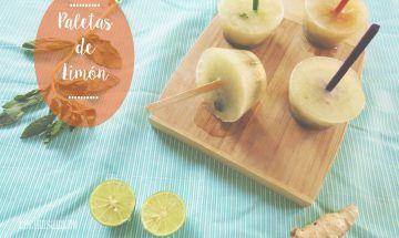 Paletas de Limón