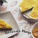 Cheesecake de Mango Receta Sin Horno