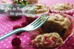 Muffins Sin Gluten de Frambuesa y Plátano: Receta para Celiacos
