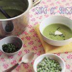 Sopa Cremosa de Chícharo o Guisantes