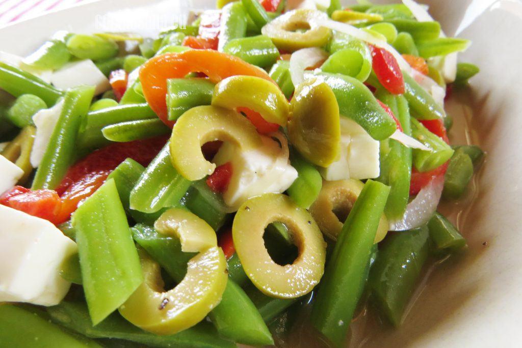 Ensalada de ejotes jud as verdes y queso panela - Tiempo de coccion de judias verdes ...