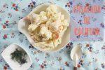 Ensalada de Coliflor y Patata con Hinojo