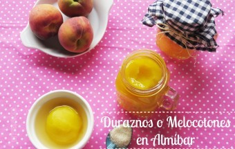 Melocotones en Almíbar