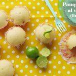 Panquecitos de Limón al Vapor