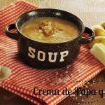 Recetas con Hurom: Crema de Papa (patatas) y Poro