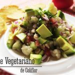 Ceviche Vegetariano de Coliflor: Receta