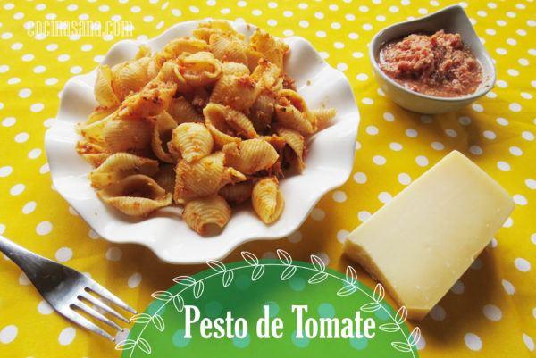 Pesto de tomate con macadamias salsa r pida y deliciosa - Como se hace la salsa pesto para pasta ...